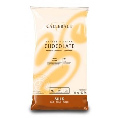 Callebaut 33,6%  de Chocolat au Lait  823NV - 10 kg