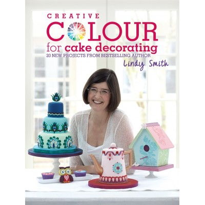 livre : Creative Colour for Cake Decorating  de Lindy Smith