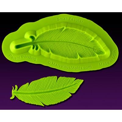 Plume  moule silicone (petit ) de Marvelous mold