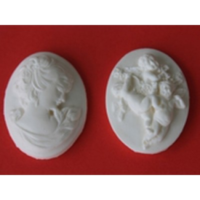 Moule silicone Chérubin et Caméo