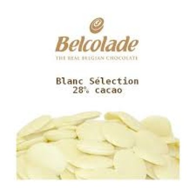Chocolate white -Belcolade