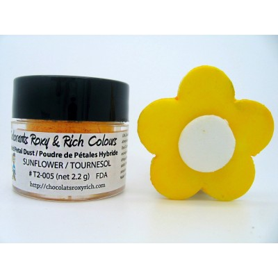 Colorant pour pétale -Tournesol